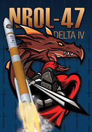 NROL 47 mission patch image credit ULA