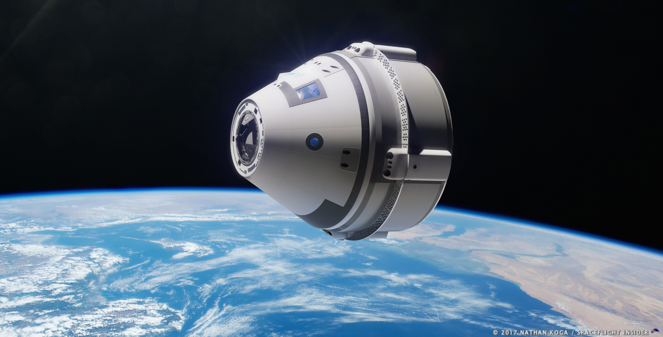 Boeing hopes to conduct the first uncrewed flight of Starliner later this year (2018). Image Credit: Nathan Koga / SpaceFlight Insider