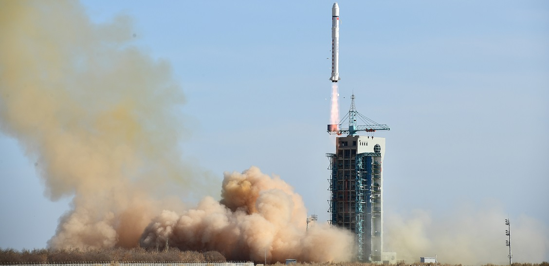 Long March 2D launches from the Jiuquan Satellite Launch Center on February 2.