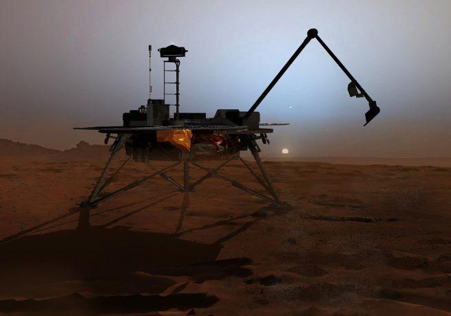 Mars Phoenix Lander image credit NASA