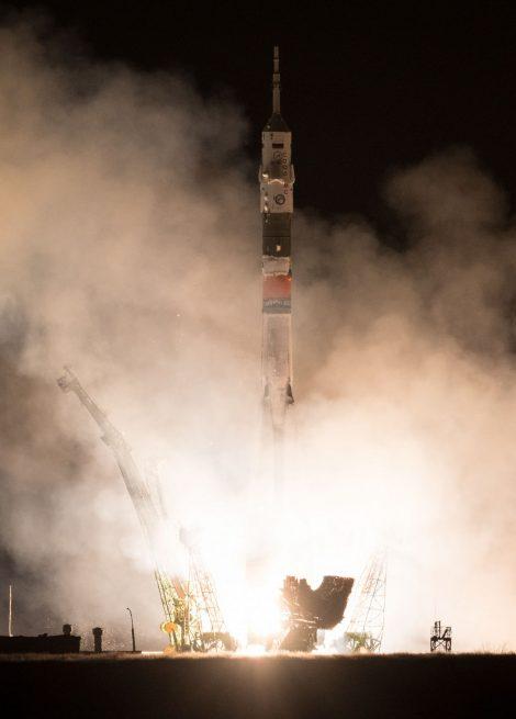Liftoff. Photo Credit: Joel Kowsky / NASA