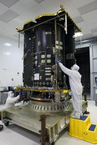 The MEV-1 core is currently being manufactured at Orbital ATK's facility in Dulles, Virginia. Photo credits: Orbital ATK