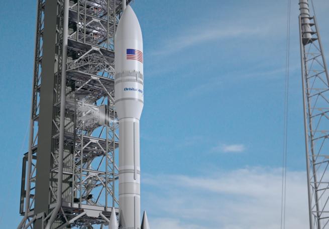 Orbital ATK's NGL rocket. Image Credit: Orbital ATK