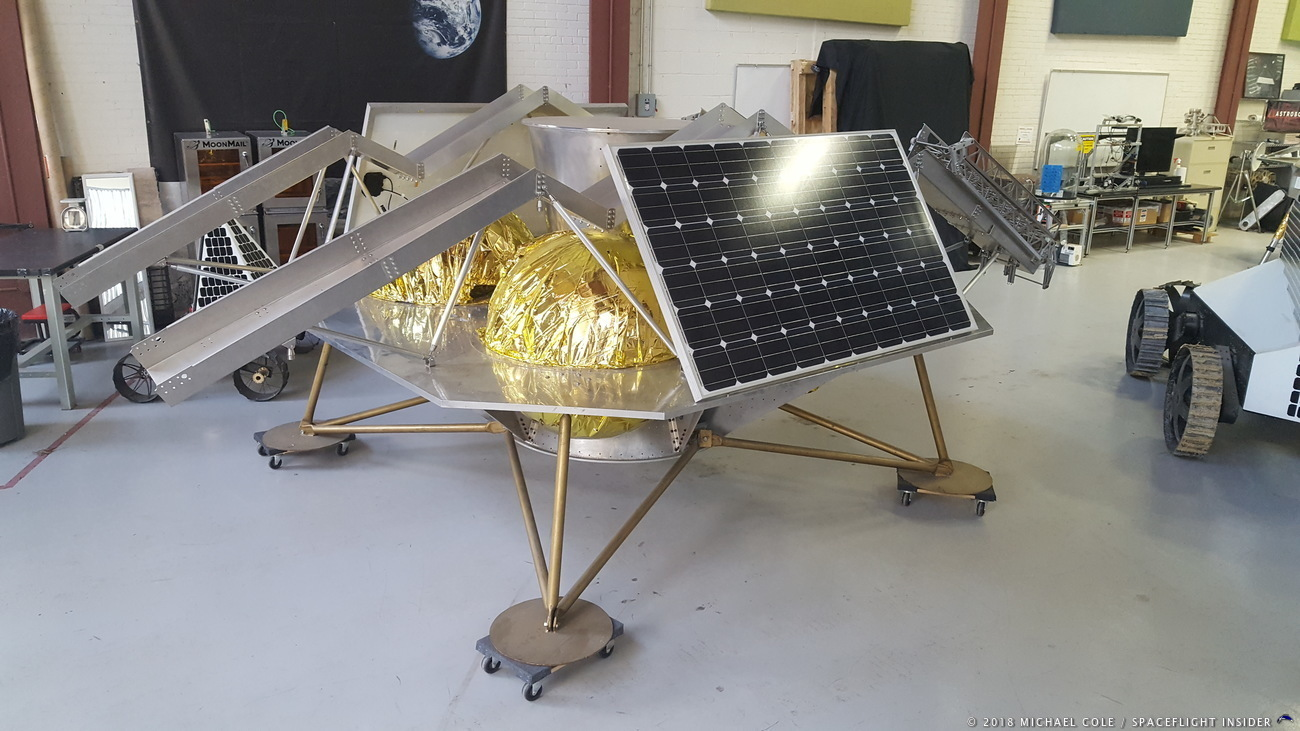 Astrobotic is working for field rovers to the Moon. Photo credit: Michael Cole / SpaceFlight Insider