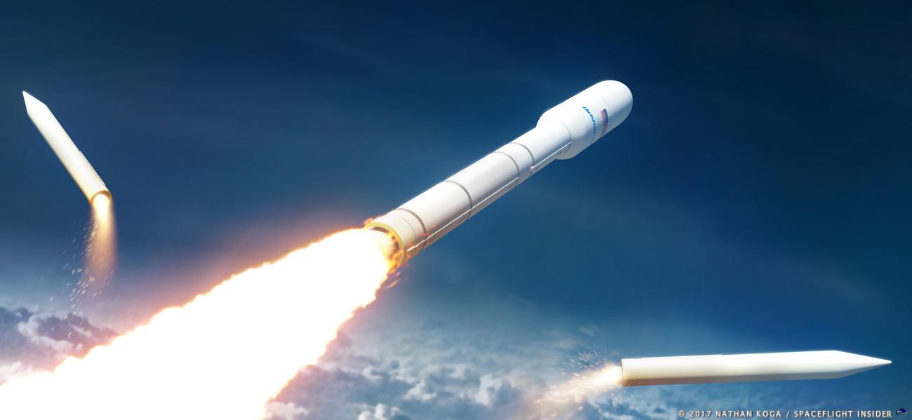 Orbital ATK's NGL rocket. Image Credit: Nathan Koga / SpaceFlight Insider