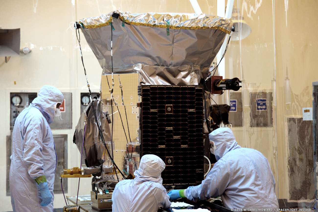 Transiting Exoplanet Survey Satellite TESS photo credit Michael Howard / SpaceFlight Insider