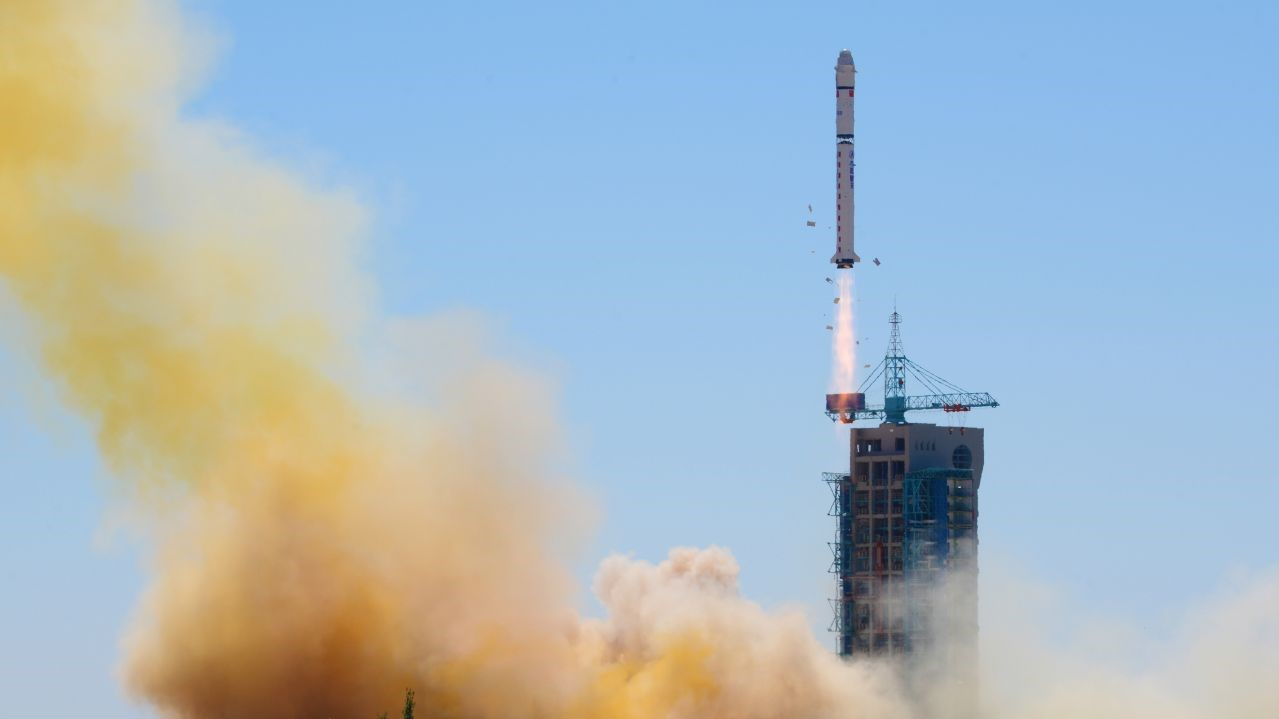 A file photo of a previous Long March 2D rocket liftoff. On March 17, 2018, China marked its eighth orbital launch of 2018 to send the fourth Land Surveying Satellite into space. Photo Credit: Chinese Academy of Sciences