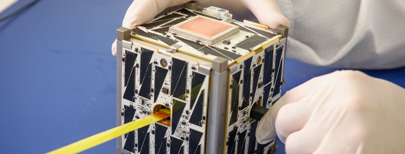 Cubesat. Photo Credit: NASA