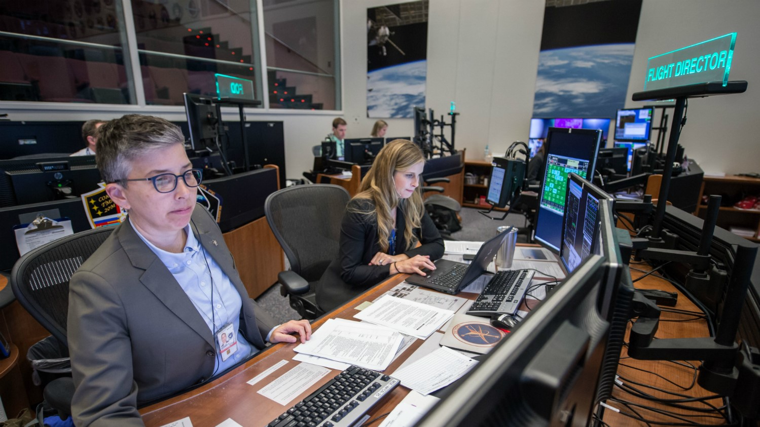 NASA is hiring flight directors for its human spaceflight operations at the agency's Mission Control Center in Houston. Photo Credit: NASA