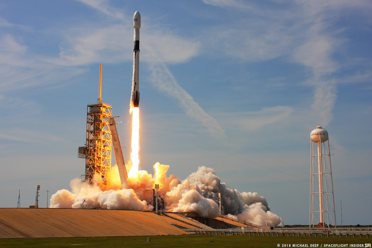 SpaceX prepping Falcon 9 to launch SES-12 mission ...