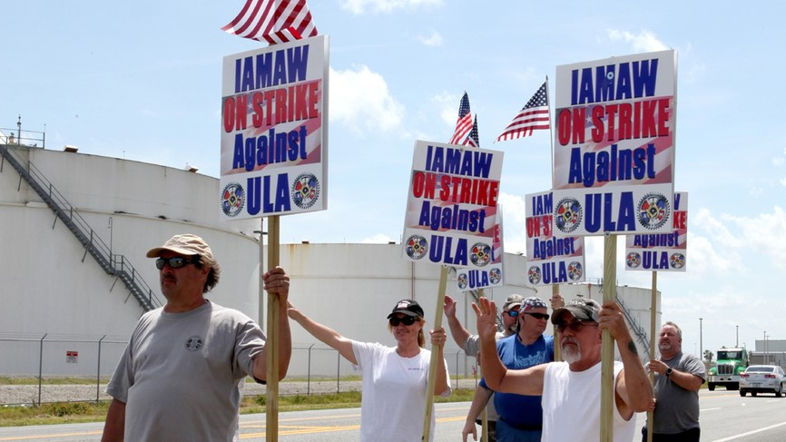 ULA, machinists workers union agree on new contact