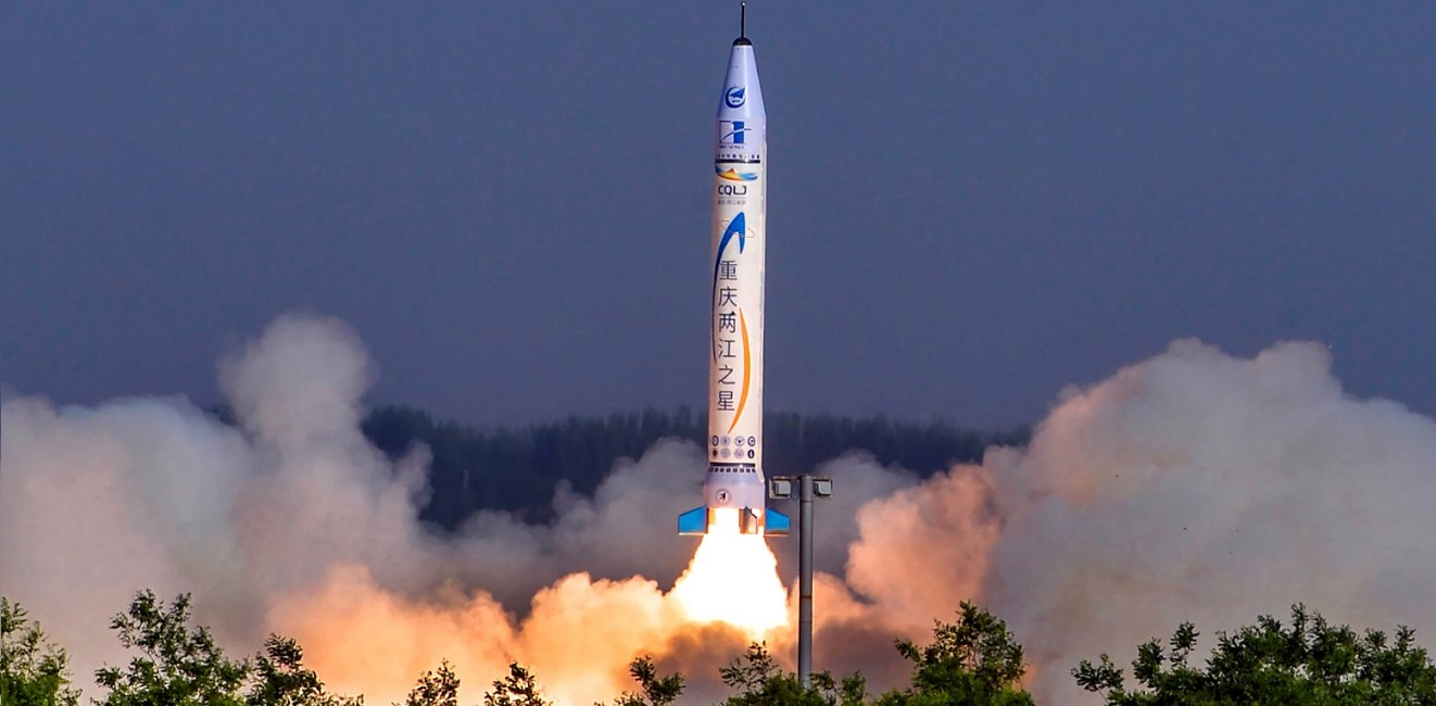OS-X rocket launch on May 17, 2018