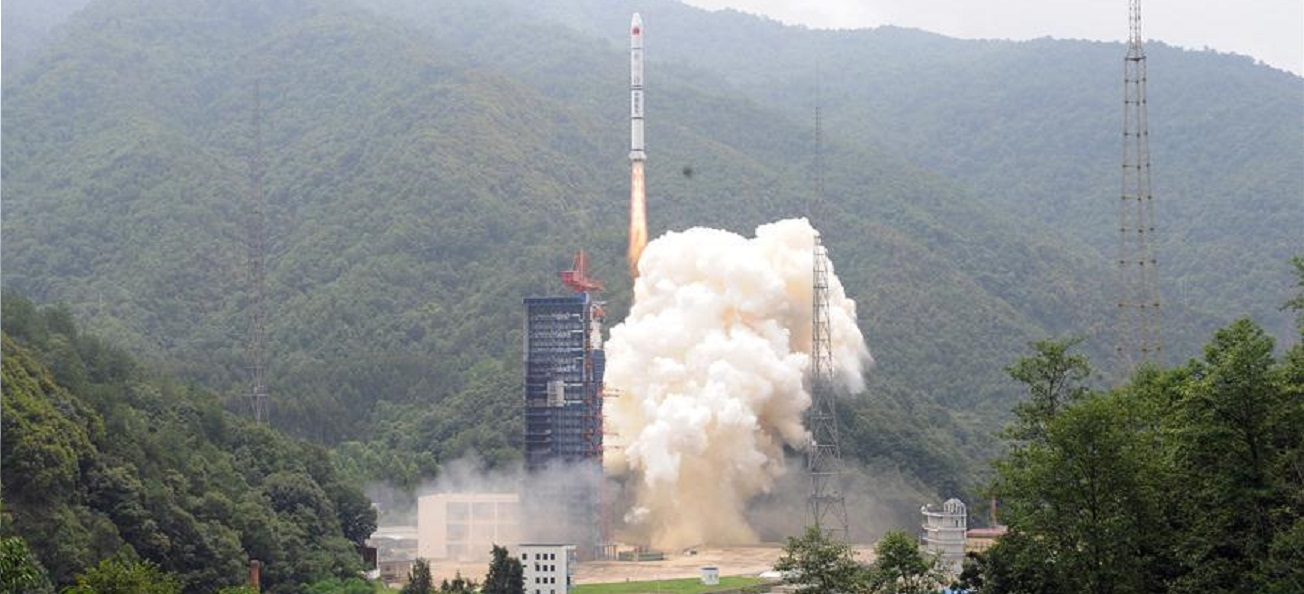 Long March 2C launches from Xichang Satellite Launch Center on June 27, 2018.