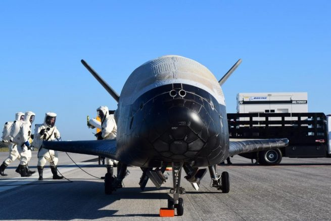 A U.S. Space Force would consolidate military space assets into one branch. Photo Credit: U.S. Air Force