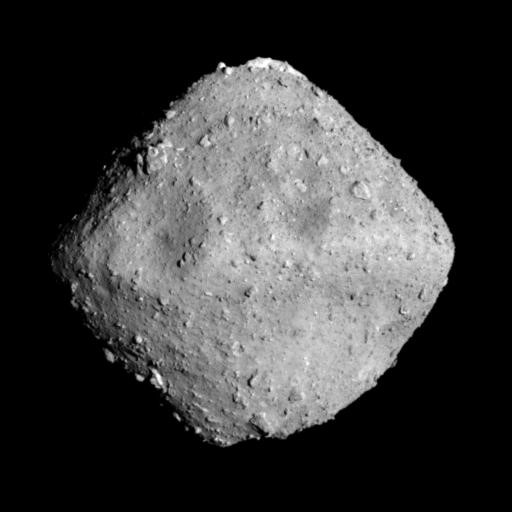 Asteroid Ryugu photographed at a distance of 40 meters on June 24, 2018. Image Credit: JAXA, University of Tokyo and collaborators