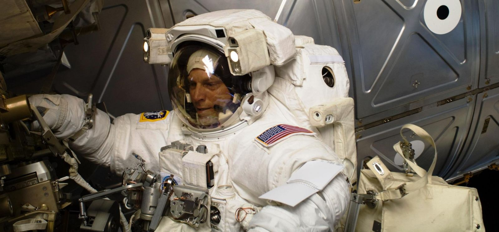 Clayton Anderson spent almost 167 days in space, and about 38 hours conducting extra-vehicular activities (EVA). Photo Credit: NASA