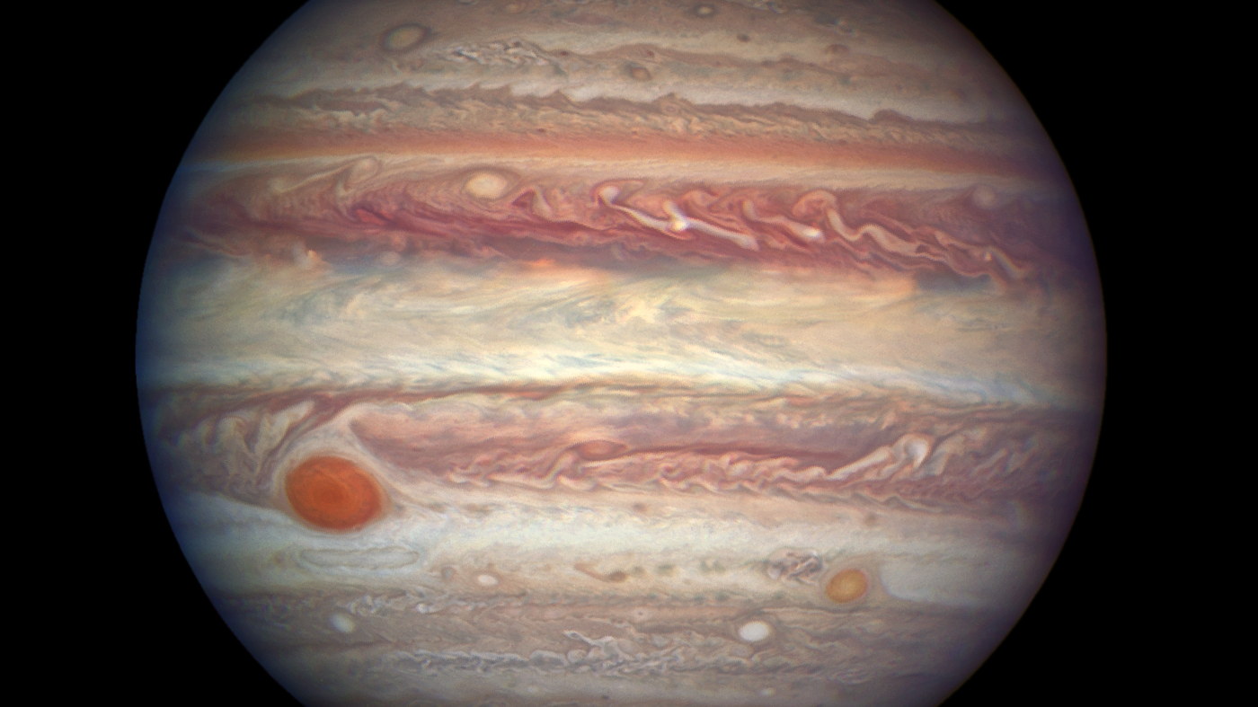 Jupiter and its Great Red Spot. Photo Credit: NASA