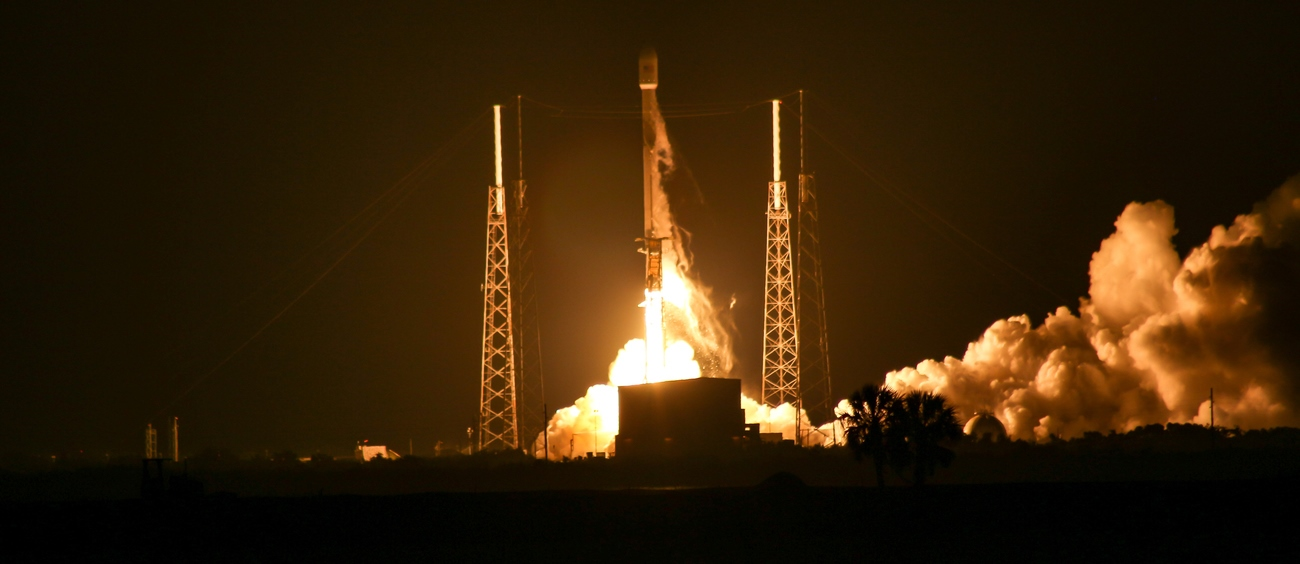 "SpaceX launched the SES-12 communications satellite atop a ""flight proven"" Falcon 9 rocket at 12:45 a.m. EDT (04:45 UTC) from Cape Canaveral Air Force Station's Space Launch Complex 40 located in Florida. Photo Credit: Michael McCabe / SpaceFlight Insider"