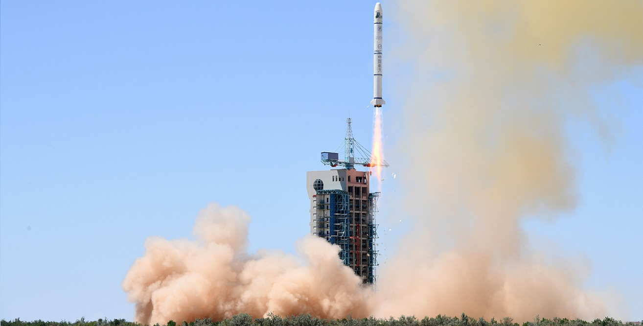 Long March 2C launches PRSS-1 and PakTES 1A Earth-observing satellites on July 9, 2018.