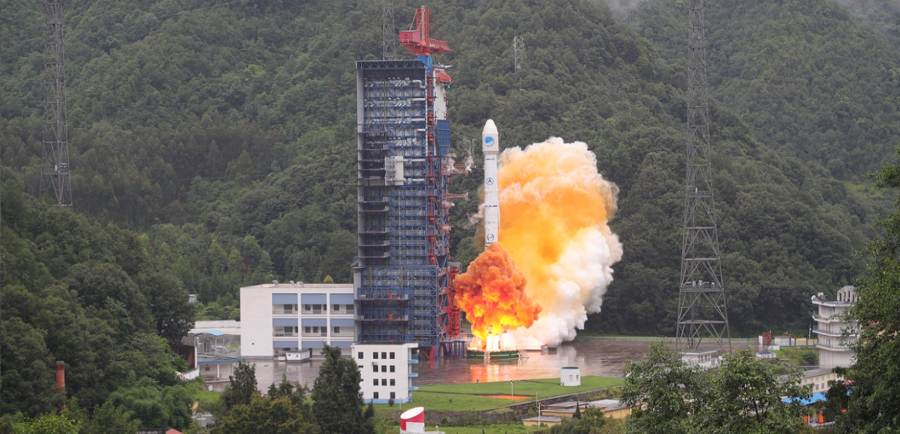 Long March 3B rocket lifts off with two BeiDou-3 satellites on July 29, 2018
