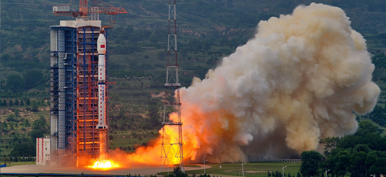 Gaofen 11 launches atop Long March 4B rocket on July 31, 2018.