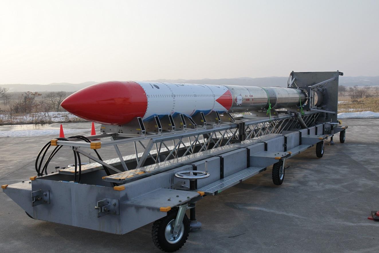 MOMO-2 rocket.