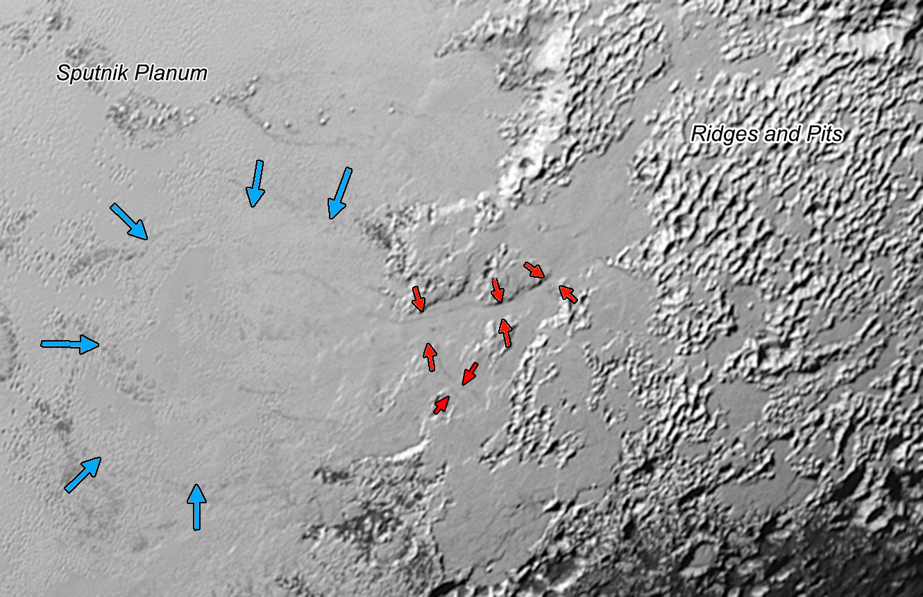 Pluto's Earth-like glaciers puzzle scientists