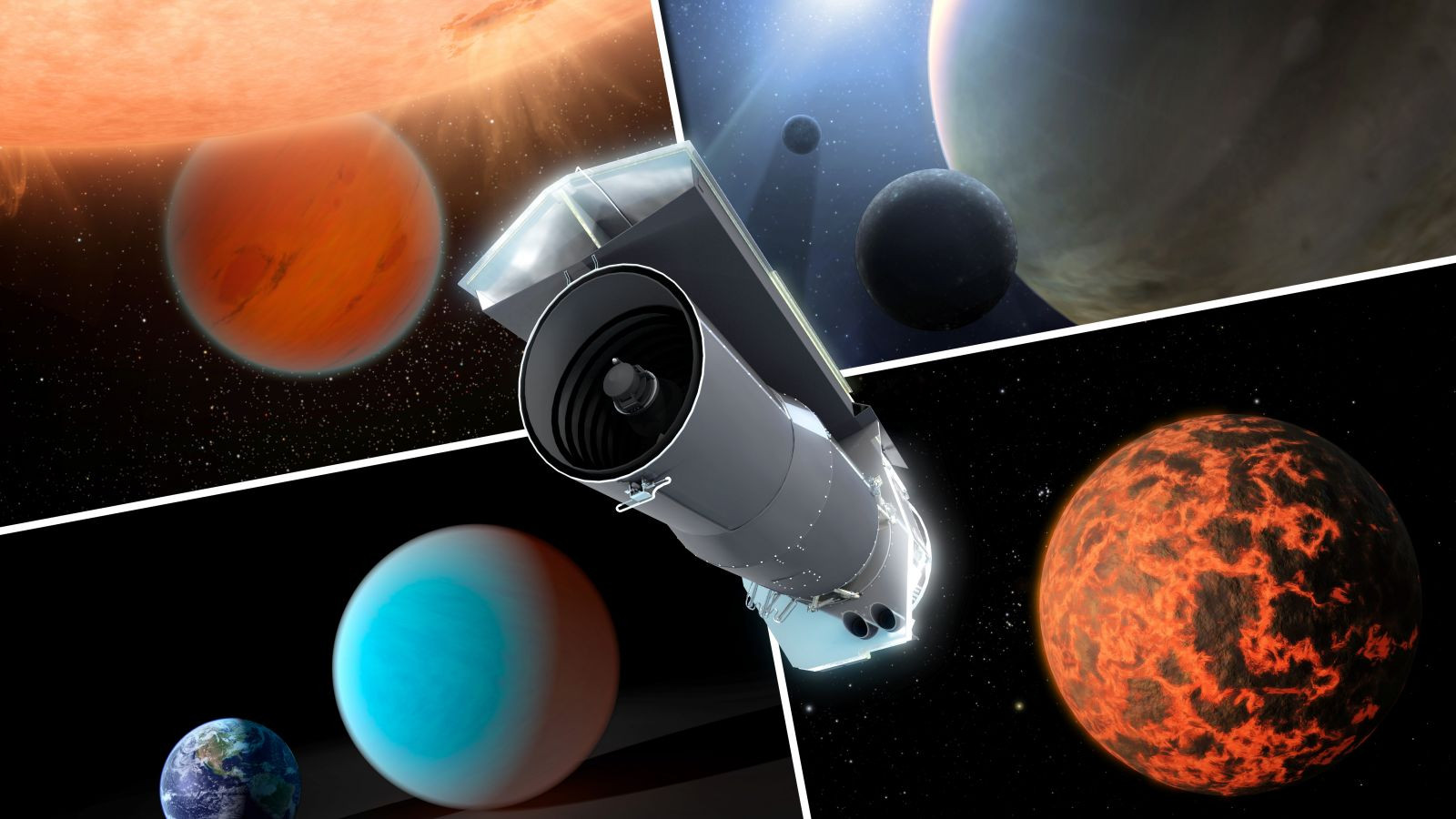 Spitzer Space Telescope Exoplanets