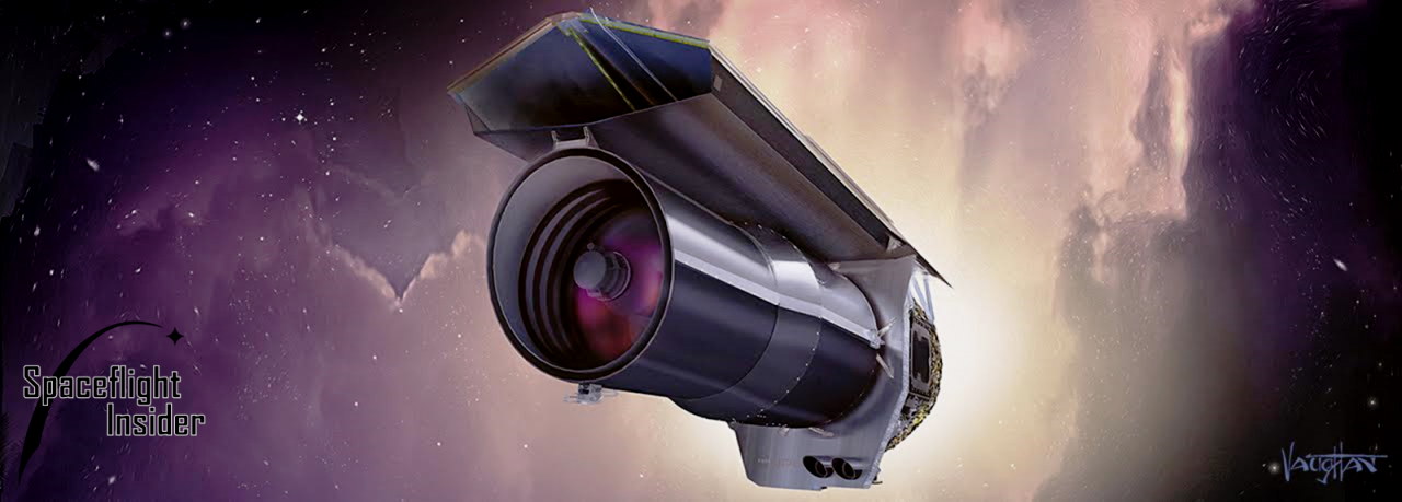 NASA's Spitzer Space Telescope has been operating on orbit for 15 years. Image Credit: James Vaughan / SpaceFlight Insider