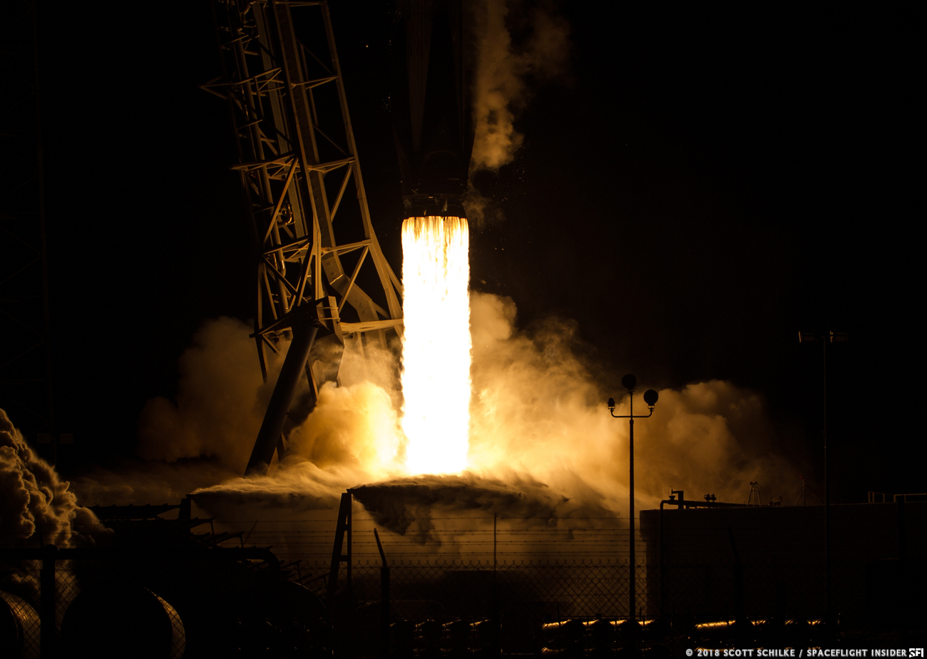 Gallery Spacex Launches Falcon 9 With Merah Putih