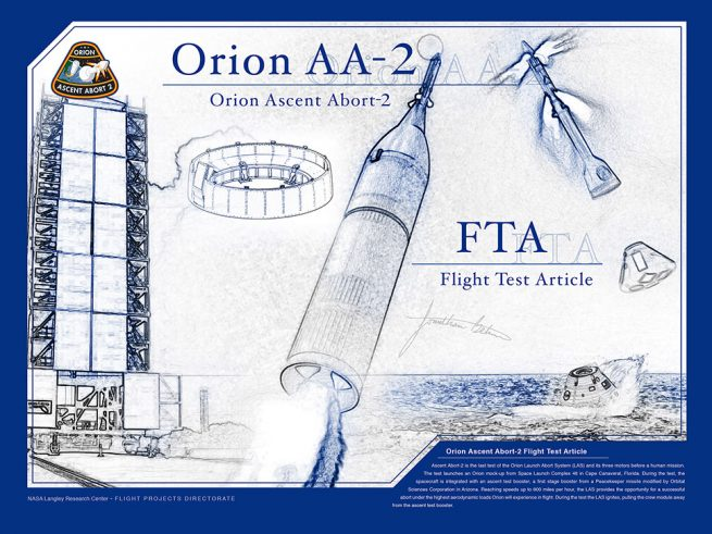 orion aa-2 fpd project poster ink blue color 30x40in