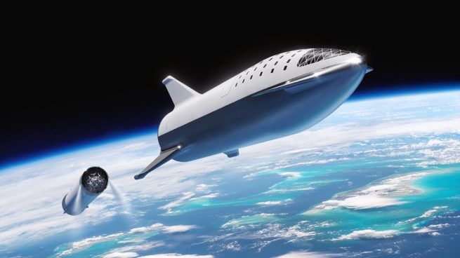 The latest version of the BFR design. Image Credit: SpaceX