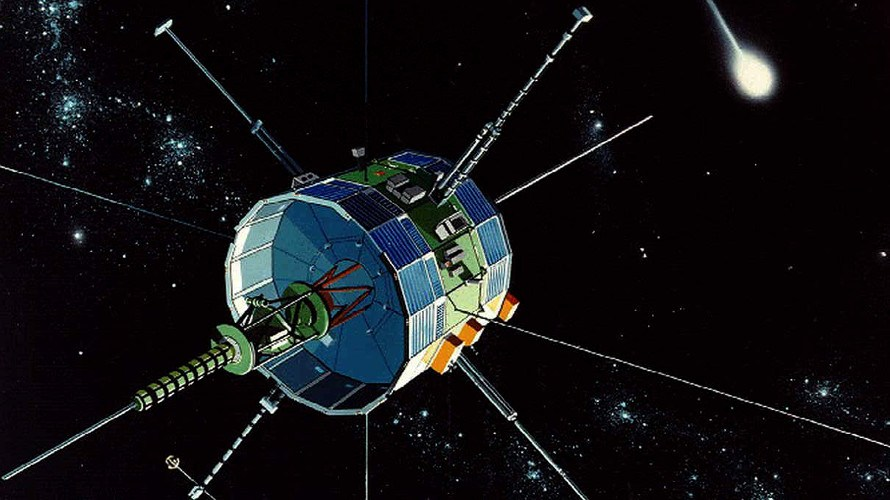 NASA's ICE spacecraft. Image Credit: NASA