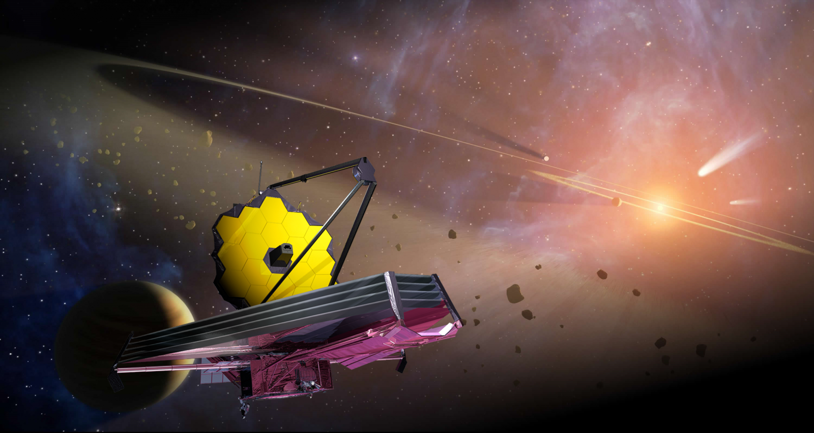 James Webb Space Telescope NASA image