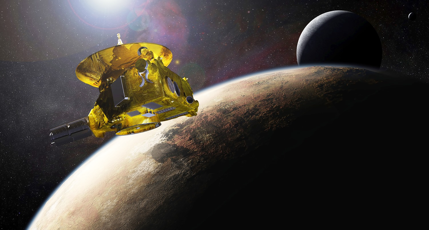 NASA New Horizons spacecraft image credit NASA - Copy