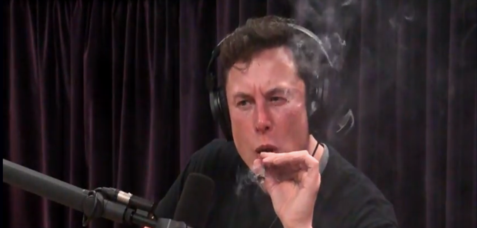 During an interview on the Joe Rogan Experience, Elon Musk sampled a tobacco/marijuana cigar. The reaction, or overreaction, from the media was as disappointing as it was unnecessary. Image Credit: PowerfulJRE