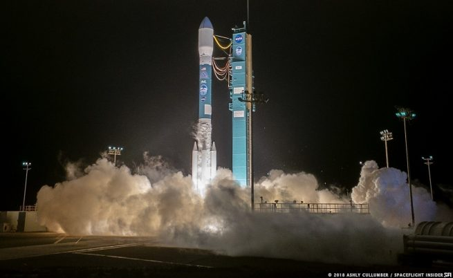NASA's ICESat-2 is launched atop a United Launch Alliance Delta II rocket from Vandenberg Air Force Base in California. This was the final flight of the 30-year Delta II program. Photo Credit: Ashly Cullumber / SpaceFlight Insider