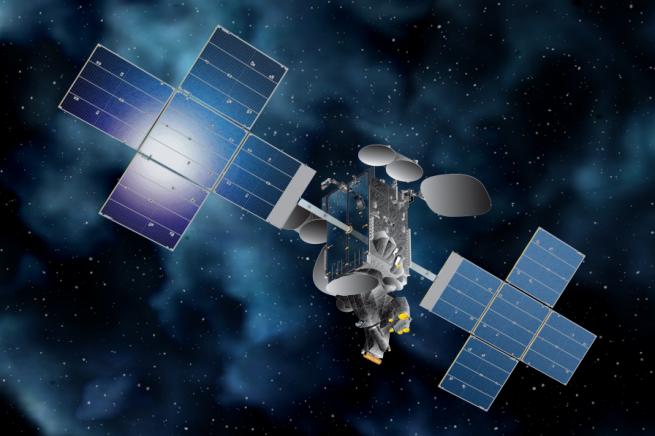 An artist's rendering of Telstar 18V. Image Credit: Telesat