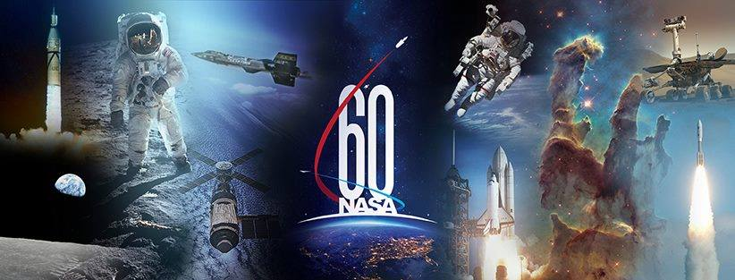 NASA 60 Anniversary. Image Credit: NASA