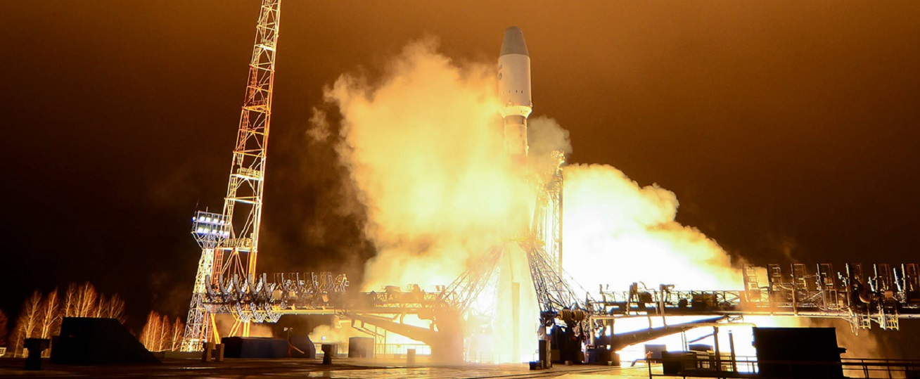 Lotos-S1 satellite launched atop a Soyuz 2.1b rocket on October 25, 2018.