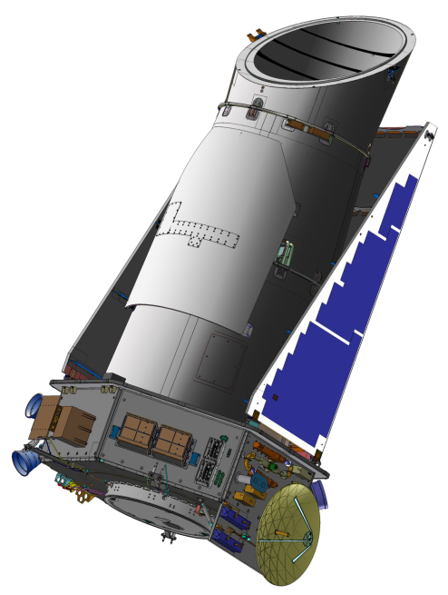 Kepler_Space_Telescope NASA image posted on SpaceFlight Insider