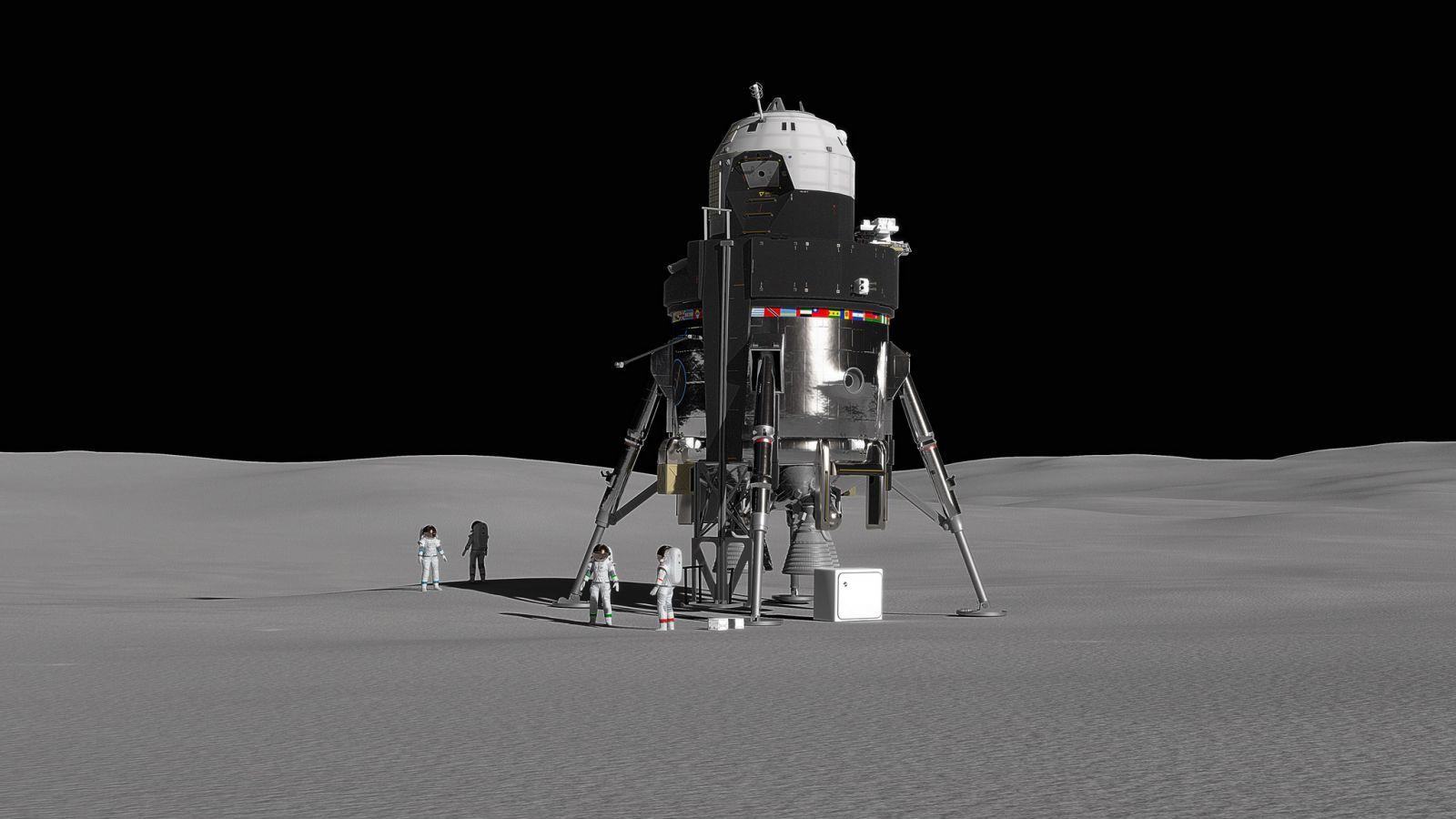 Lockheed Martin Reusable Lunar Lander Concept