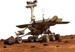 NASA's Mars Exploration Rover Opportunity image credit NASA