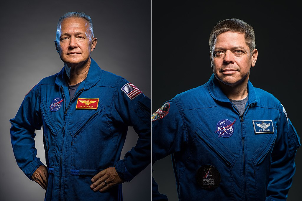 If Demo Flight 1 is successful, it will pave the way for NASA astronauts Douglas Hurley and Bob Behnken to conduct the first crewed demonstration flight in June of 2019. Photo Credit: NASA
