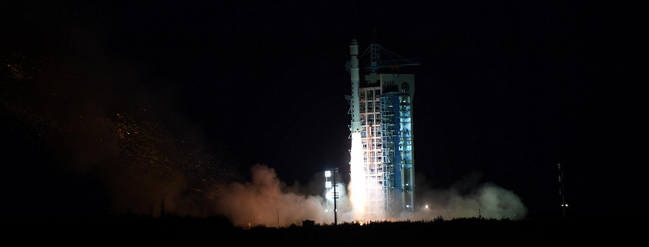 A Chinese Long March 2D launches five satellites on Nov. 20, 2018. Photo Credit: Xinhua