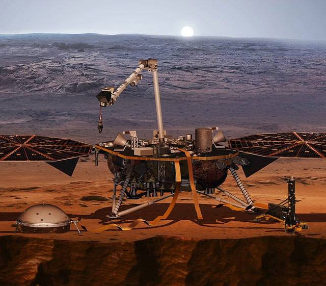 The InSight lander is based off of technology utilized during NASA's successful 2008 Phoenix mission. Image Credit: NASA / JPL-Caltech