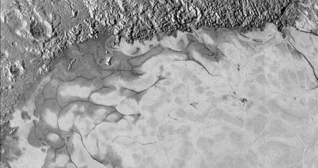 A new study of Pluto's Sputnik Planitia region has provided further insights into the dwarf planet's geology. Image Credit: NASA / JHUAPL / SwRI