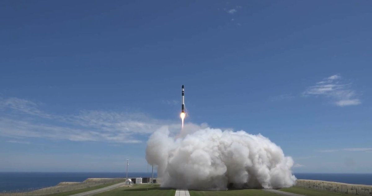 "Rocket Lab's third Electron mission, dubbed ""It's Business Time,"" launched on Nov. 11, 2018. Photo Credit: Rocket Lab"