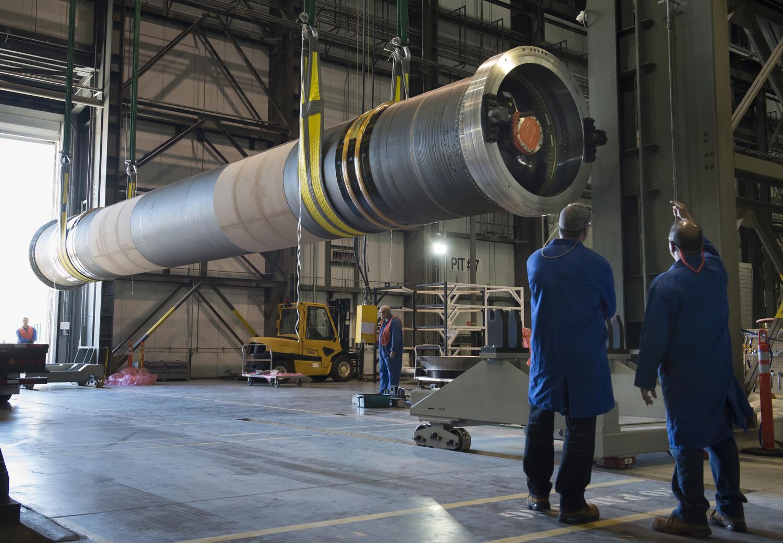 GEM 63 solid rocket booster photo credit Northrop Grumman