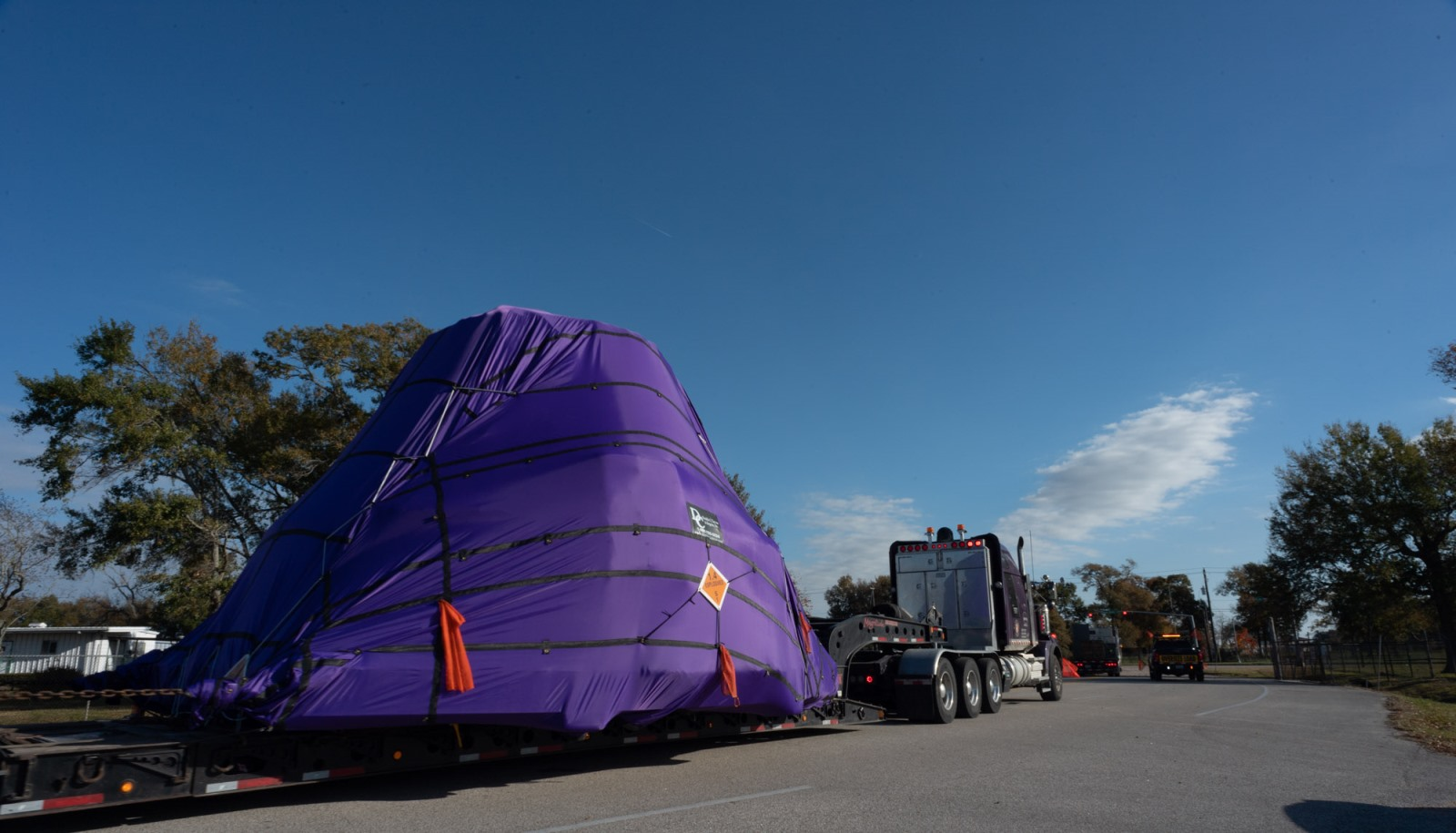 orion s ascent abort 2 crew module delivered to ksc spaceflight